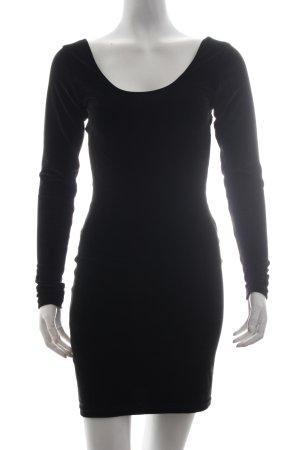American Apparel Langarmkleid schwarz minimalistischer Stil