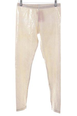 American Apparel Leggings gold-colored-cream shimmery