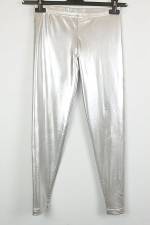 American Apparel Leggings Gr. S silber