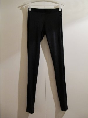 AMERICAN APPAREL Leggings Leggins Lycra Yoga Pants Hose Schwarz M Laufhose