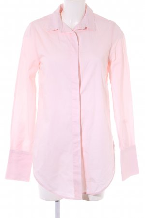 American Apparel Long-Bluse rosé Business-Look