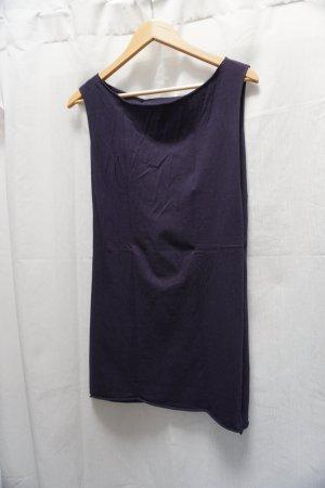 American Apparel Robe t-shirt bleu foncé coton