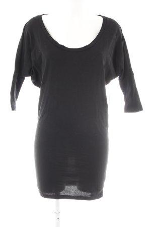 American Apparel Longshirt schwarz Casual-Look