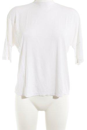 American Apparel Top à manches longues blanc style décontracté
