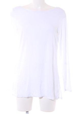 American Apparel Longesleeve wit casual uitstraling