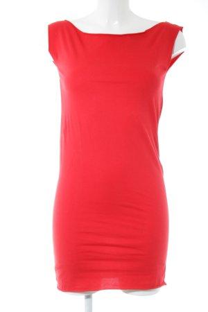 American Apparel Top lungo rosso stile casual