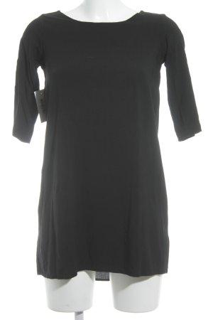 American Apparel Mini-jurk zwart minimalistische stijl