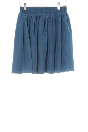 American Apparel Mini-jupe bleu pétrole style décontracté