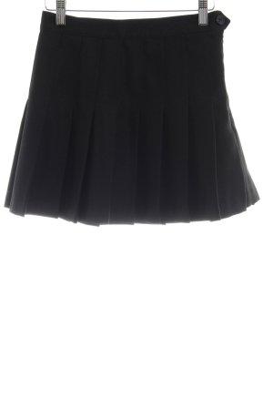 American Apparel Mini-jupe noir style décontracté