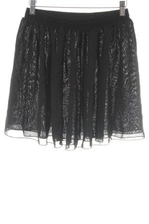 American Apparel Minifalda negro look casual