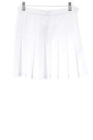 American Apparel Minirock weiß 90ies-Stil