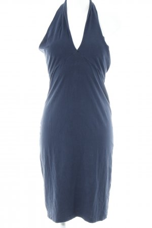 American Apparel Vestido de cuello Halter azul oscuro