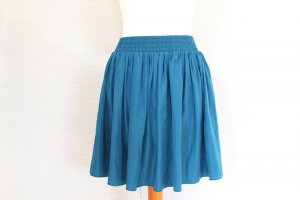 American Apparel Nylon Tricot High Waist Skirt