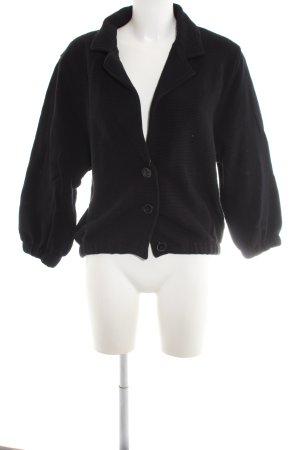 American Apparel Oversized Jacke schwarz Casual-Look