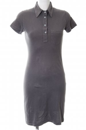 American Apparel Polo Dress light grey casual look