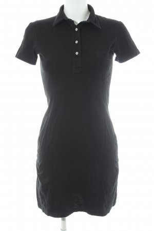 American Apparel Polo Dress black casual look