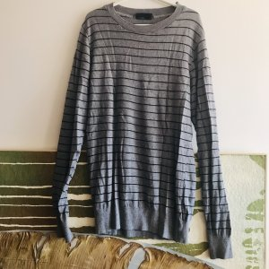 American Apparel Long Sweater black-grey