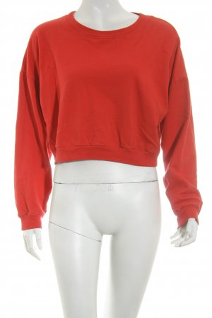 American Apparel Pullover rot Casual-Look