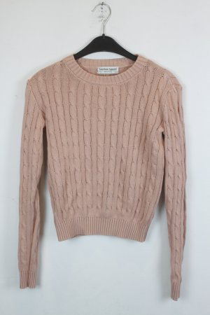 American Apparel Pullover Strickpullover Gr. S apricot (18/6/117)