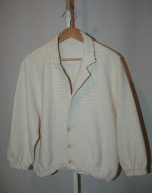 American Apparel Blusón crema-blanco puro Algodón