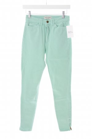 American Apparel Tube Jeans turquoise