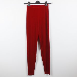 American Apparel Legging rouge polyester
