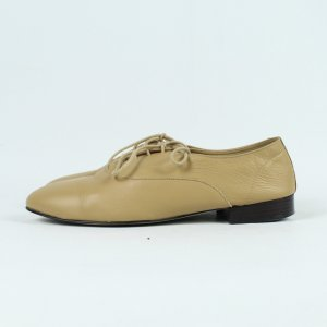 American Apparel Chaussures à lacets brun sable cuir