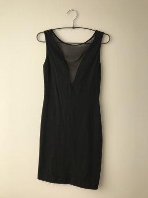 American Apparel Vestido negro-taupe Algodón