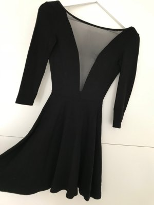 American Apparel Mini Dress black viscose