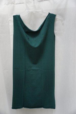 American Apparel Shirt, grün, Gr. S, Basic, Longshirt, petrol, Kleidchen