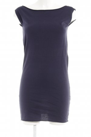 American Apparel Shirt Dress dark blue athletic style