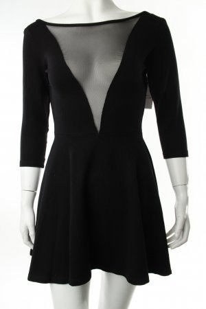 American Apparel Shirtkleid schwarz
