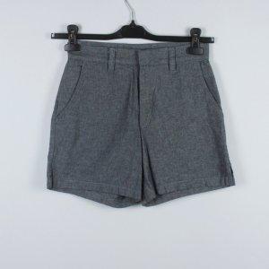 American Apparel Pantaloncino a vita alta grigio scuro Cotone