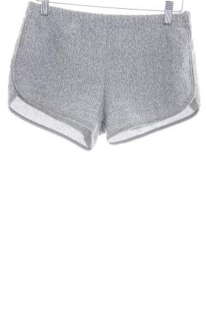 American Apparel Shorts grau meliert Casual-Look