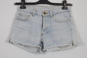 American Apparel Denim Shorts blue cotton