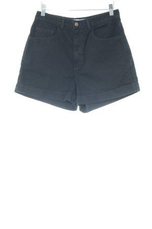 American Apparel Shorts negro estilo dandy