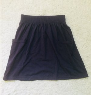 American Apparel Skater Rock Skirt blau Gr. S