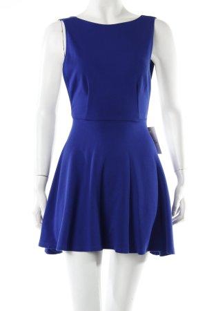 American Apparel Skaterdress blau