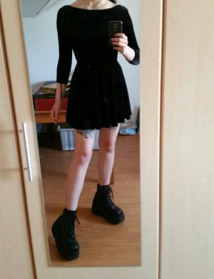 American Apparel Mini Dress black
