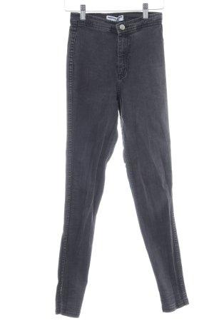 American Apparel Skinny Jeans dunkelgrau Casual-Look