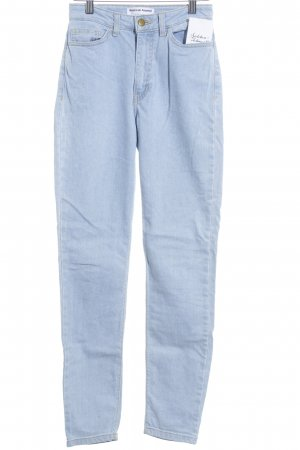 American Apparel Slim Jeans light blue simple style