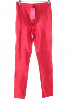 American Apparel Stretch broek rood extravagante stijl