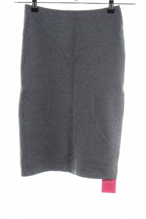 American Apparel Stretch Skirt light grey flecked business style