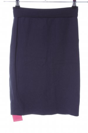 American Apparel Jupe stretch bleu style d'affaires