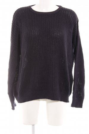 American Apparel Strickpullover dunkelblau Street-Fashion-Look
