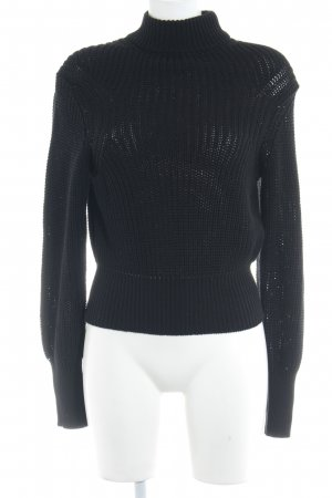 American Apparel Strickpullover schwarz Casual-Look