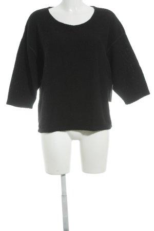 American Apparel Gebreide trui zwart casual uitstraling