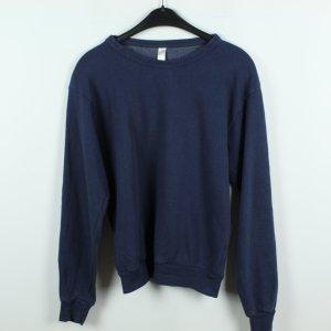 American Apparel Sweatshirt bleu foncé coton