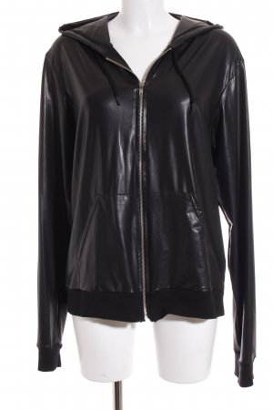 American Apparel Sweatjacke schwarz Casual-Look