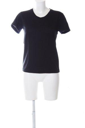 American Apparel T-shirt nero stile casual